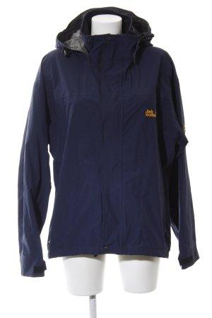 Jack Wolfskin Outdoor Jacket dark blue-dark yellow casual look