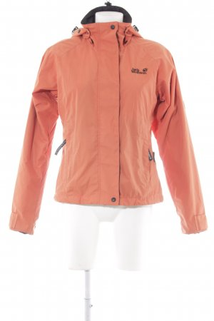 Jack Wolfskin Outdoorjacke dunkelorange Casual-Look