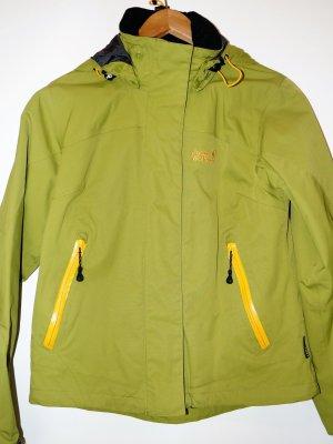 Jack Wolfskin OutdoorJacke grün-gelb
