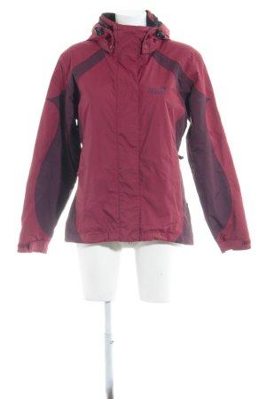 Jack Wolfskin Outdoor Jacket carmine-blackberry-red casual look
