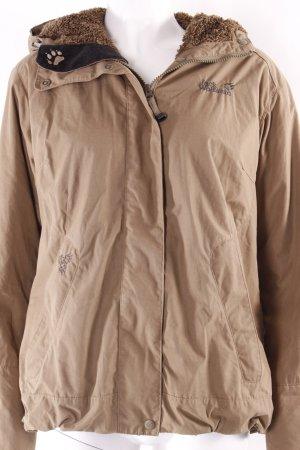 Jack Wolfskin Outdoor Jacket green grey