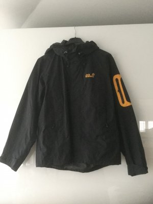 Jack Wolfskin Chaqueta para exteriores negro-naranja dorado poliamida