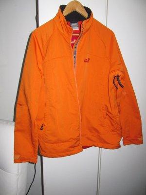 Jack Wolfskin - Outdoorjacke mit Reißverschluss - Orange/Rot - Unisex