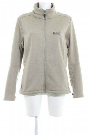 Jack Wolfskin Outdoor Jacket sand brown flecked casual look
