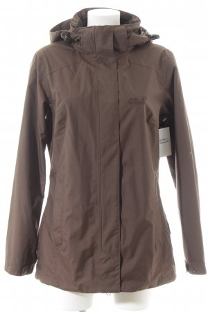 Jack Wolfskin Outdoor Jacket black-brown athletic style