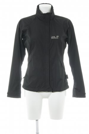 Jack Wolfskin Outdoorjacke schwarz Casual-Look