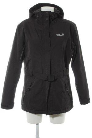 Jack Wolfskin Outdoor Jacket black athletic style