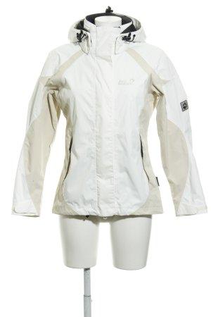 Jack Wolfskin Outdoorjacke weiß-creme schlichter Stil