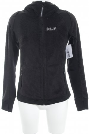 Jack Wolfskin Oversized Jacket black athletic style