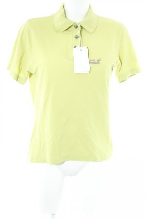 Jack Wolfskin Polo-Shirt grasgrün Casual-Look