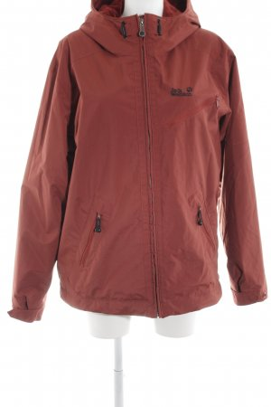 finest selection 6cf18 df80b Jack Wolfskin Impermeabile rosso-marrone stile casual