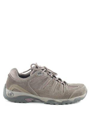 Jack Wolfskin Sneakers met veters grijs-bruin-antraciet casual uitstraling