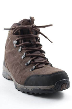 Jack Wolfskin Lace-up Boots dark brown athletic style