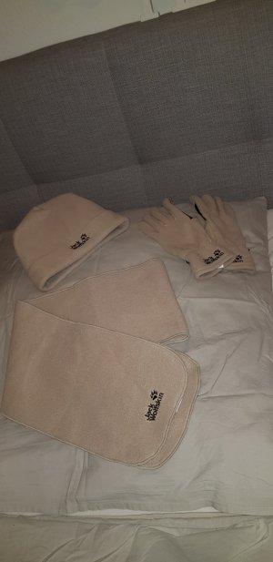Jack wolfskin Set Handschuhe Mütze Schal