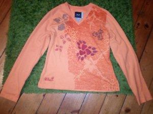 Jack Wolfskin Shirt Größe M orange