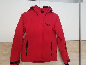 Jack Wolfskin Outdoor Jacket brick red
