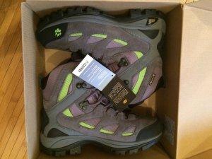 Jack Wolfskin Snow Pass TP. 38 OVP grau-grün Wanderschuhe Outdoor Schuhe