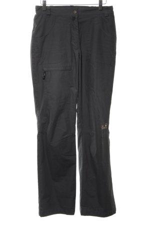Jack Wolfskin Stoffen broek zwart simpele stijl