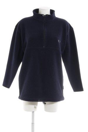 Jack Wolfskin Sweatshirt dunkelblau sportlicher Stil