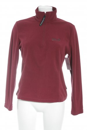 Jack Wolfskin Sweatshirt dunkelrot Casual-Look