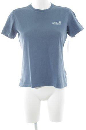 Jack Wolfskin T-Shirt petrol Casual-Look