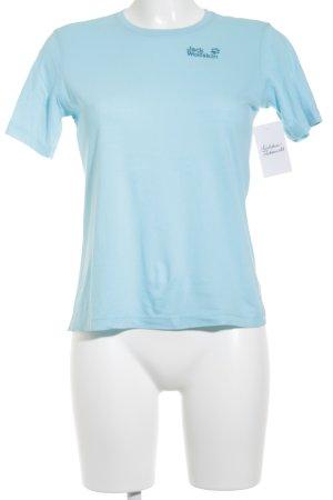 Jack Wolfskin T-Shirt türkis Casual-Look