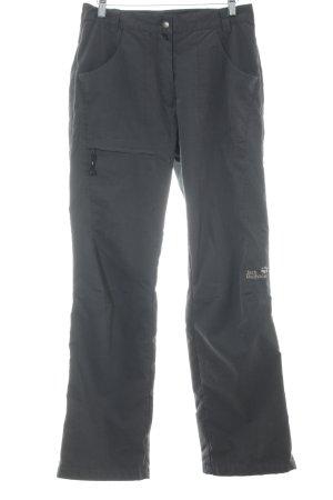 Jack Wolfskin Pantalon thermique gris ardoise style classique