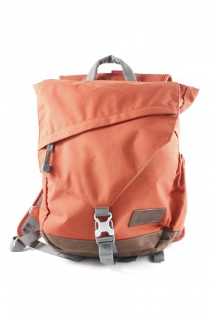 Jack Wolfskin Trekking Backpack brick red-grey athletic style