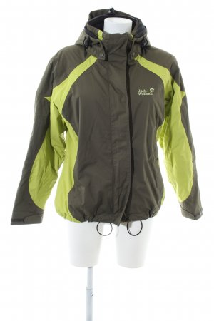 Jack Wolfskin Übergangsjacke khaki-grün sportlicher Stil