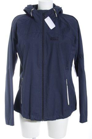 Jack Wolfskin Übergangsjacke graublau-wollweiß sportlicher Stil