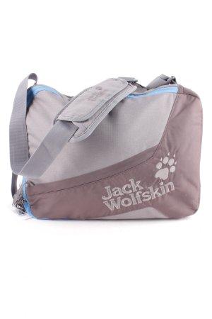 Jack Wolfskin Umhängetasche grau-graubraun sportlicher Stil