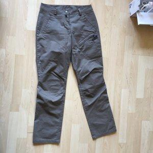 Jack Wolfskin Pantalón de color caqui gris
