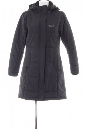 Jack Wolfskin Wintermantel anthrazit Casual-Look