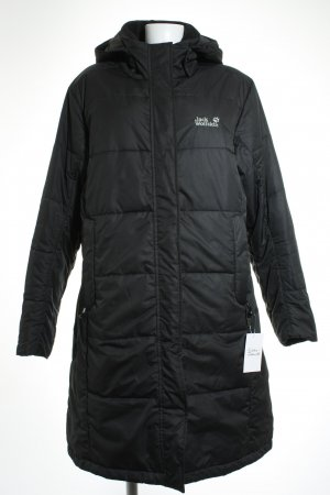 Jack Wolfskin Wintermantel schwarz Casual-Look
