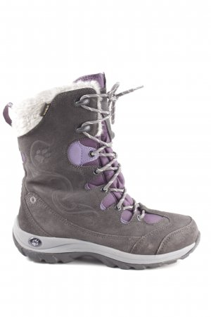 new product 37892 d5125 Jack Wolfskin Winterstiefel braun-lila Casual-Look