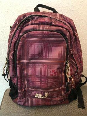 Jack Wolfskin Carrito de mochila lila grisáceo