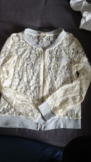 Coarse Knitted Jacket cream