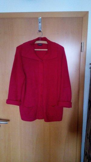 Cecil Giacca in maglia rosso mattone