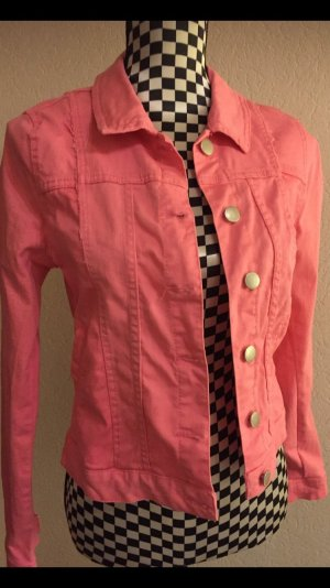 Takko Denim Jacket pink