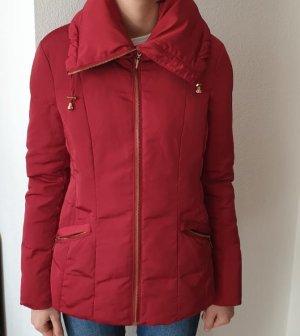 C&A Winter Jacket dark red