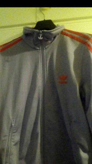 Adidas Giacca sport rosso-viola