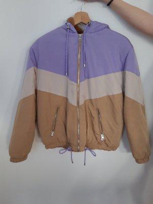 Bershka Long Jacket beige
