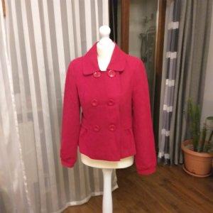 Clockhouse Chaqueta de lana rojo neón