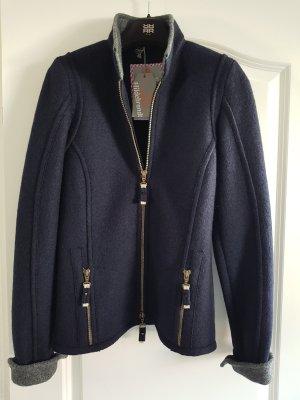 Manufaktur Hildebrandt Chaqueta de lana azul oscuro