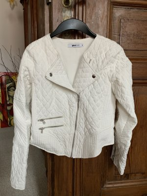 Short Jacket natural white polyester