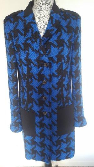 Orwell Geklede jas zwart-blauw