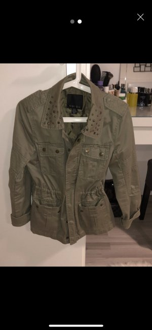 Short Jacket lime-green