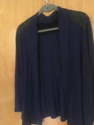 s.Oliver Veste chemise noir-bleu foncé