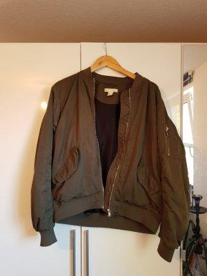 H&M Bomberjack khaki