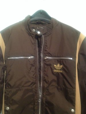 Adidas Blouson brown-sand brown polyamide